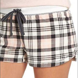 PJ salvage plaid pajama short XXL